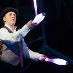 LED-show-jongleur